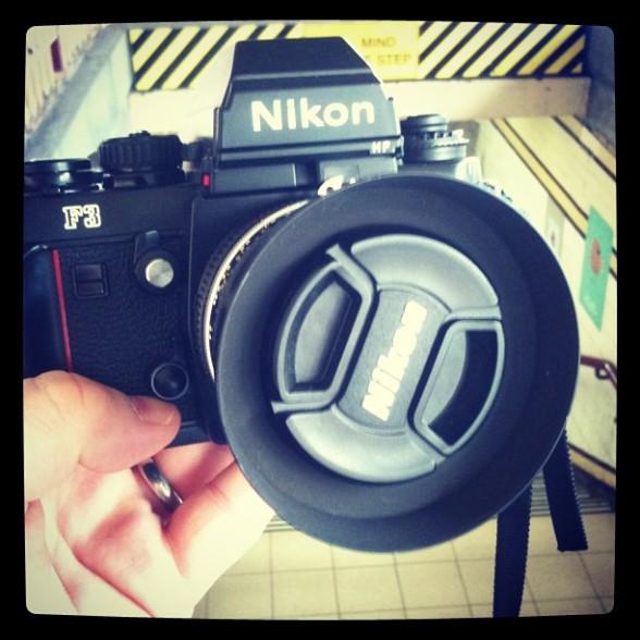 Some Nikon F3 Camera Pron