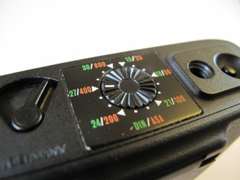 Film speed selector