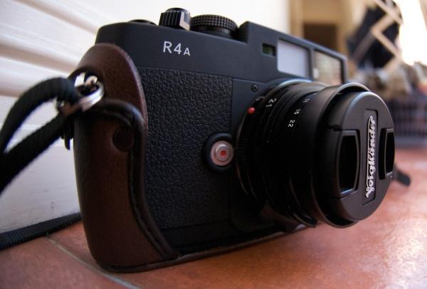 Voigtlander R4a - a great starter rangefinder.