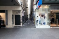 Bourke St Mall Entrace
