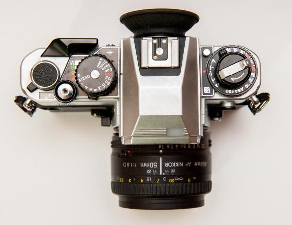 Nikon FA with 50mm F1.8